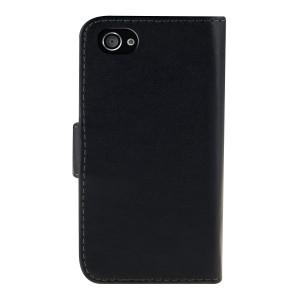 Flipové púzdro pre Apple iPhone 4   4S - čierna 3 63bdb36ef33