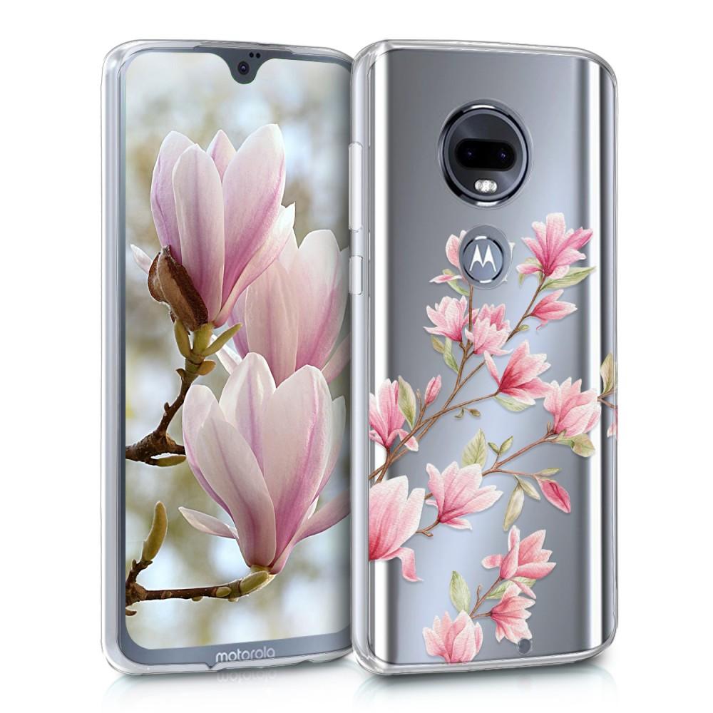 Etui Dla Motorola Moto G7 Moto G7 Plus Różowy